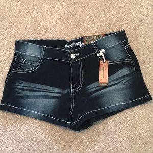 Amethyst Jeans Shorts